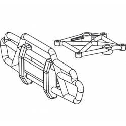 Jamara Paraurti superiore anteriore per Tiger (art. 505089)