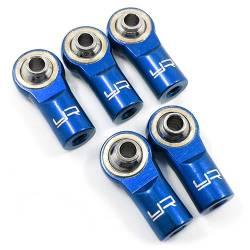Yeah Racing Uniball in alluminio sfera in acciaio boccola in bronzo per barre M3 DARK BLUE (5) (art. YA-0550DB)