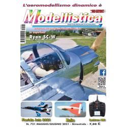 Modellistica Rivista di modellismo numero 721 Maggio / Giugno 2021 Bimestrale
