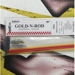 Sullivan Coppia bowden con tirante in Nylon 4,5x3,5x1220 mm modello Red-Yellow 504 (art. 749823)