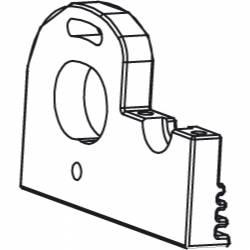 Jamara Supporto motore per Voltage / Major / Tiger / Liquid / SR10 / Cocoon (art. 505026)