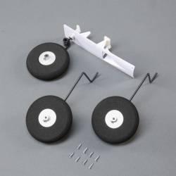 E-flite Set carrello di atterraggio per Habu STS 70mm EDF (art. EFL01554)