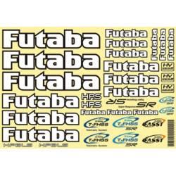 Futaba Foglio adesivi Automodelli 260x180mm (art. FU869)