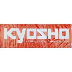 Kyosho Striscione Kyosho in PVC 1800x600mm con anelli per fissaggio (art. 87007GM)