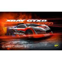 Xray Automodello GTX'22 1/8 Luxury Nitro On-Road GT Car Kit (art. 350503)