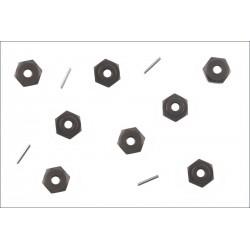 Kyosho Trascinatori per cerchi esagono 17mm per DBX/DST (art. TRW106)
