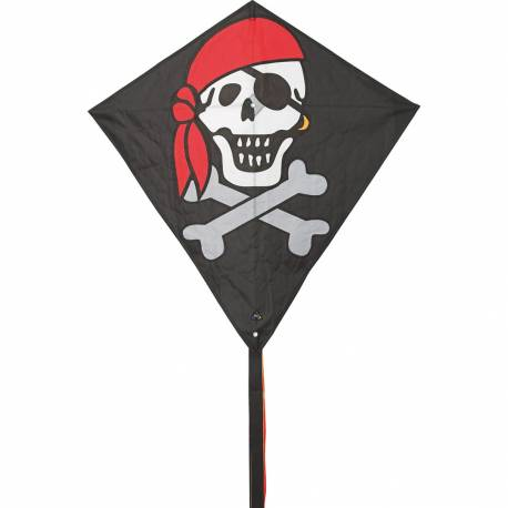 Aquilone Eddy Jolly Roger cavi inclusi (art. HQ100053)