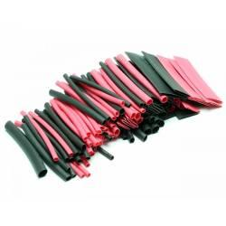 Pichler Termoretraibile per cablaggi assortimento 100 pezzi da 70mm rosso/nero (art. C8203)