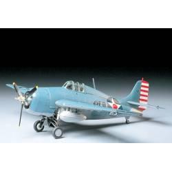 Tamiya Grumman F4F-4 Wildcat scala 1/48 kit di montaggio (art. TA61034)