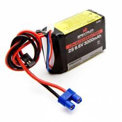Spektrum Batteria Li-Fe 6,6V 3000mAh 2S per ricevente 70x50x25mm (art. SPMB3000LFRX)