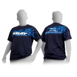 Xray Team NUOVA T-Shirt Blue scura Taglia L (art. 395013)
