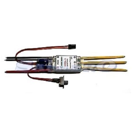 Model Motors Variatore Elettronico 5024-3ph 3-8 Lipo 50A (art. MM50243)