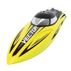 Volantex Rc Motoscafo Vector SR65 motore Brushed versione RTR Racing Boat Yellow (art. VOL79205BY)