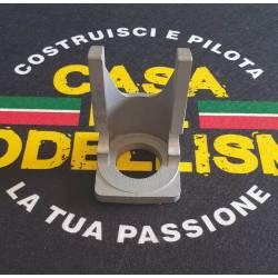 Rossi Supporto per motore in alluminio per Glow 8,5cc - 10cc (.50 - .60) 38x70mm 94gr (art. B4052)