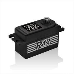 Power HD Servocomando HD R12 Basso Profilo MG Digital Racing 12Kg-cm 0.06 sec (art. HD-R12)