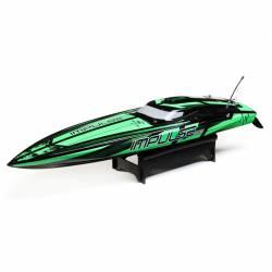 "ProBoat Motoscafo Impulse 32"" Brushless Deep-V RTR con Smart Technology Black/Green (art. PRB08037T1)"