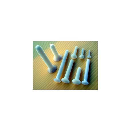 Jet's Viti in Nylon testa svasata 4x20mm 5 pezzi (art. VNS420)