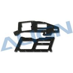 Align Set telaio carbonio fresato 1,2mm T-REX 250 (art. H25019)