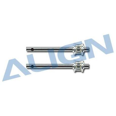 Align Albero rotore di coda in metallo T-rex 450 Sport (art. H45100)