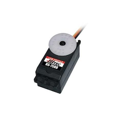 Hitec Servocomando HS-75BB basso profilo per Retrattili (31075S)