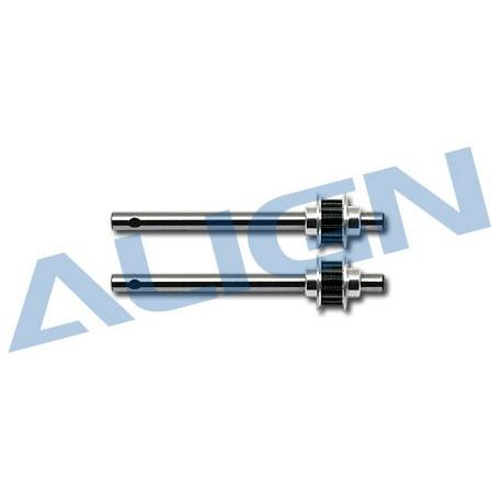 Align Albero trasmissione coda + ruota T-REX 250 (art. H25075)