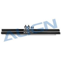 Align Tubo di coda per T-REX 250 nero 2 pezzi (art. H2503000)