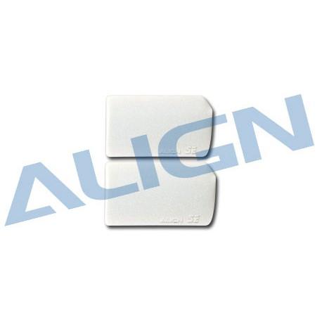 Align Set palette Flybar bianche per T-REX 250 (art. H25008A)