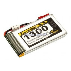 Rc System Batteria Lipo 3,7V 1300mAh Easy Copter V6/XS (art. RC3475)