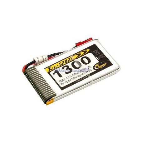 Rc System Batteria Lipo 3,7V 1300mAh Easy Copter V6/XS (art. RC3475)