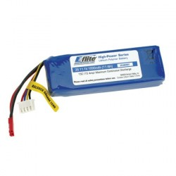 E-flite Batteria Li-Po 3S 11,1V 1000mAh 20C (art. EFLB0998)