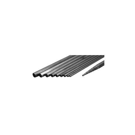 Euroretracts Barra di acciaio filettata diametro 4MA 1mt. (art. TUB/55320/000)