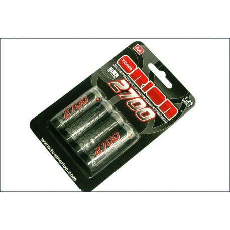 Orion Batterie ricaricabili Nimh AA 1,2V 2700 mAh 4pz (art. ORI13502)