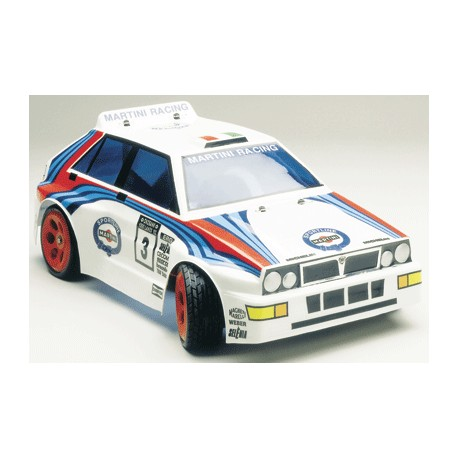 Mantua Model Carrozzeria Lancia Delta Integrale 1/8 GT con nuove Decals (art. 20400)