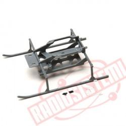 Hirobo Mini Lama R/C carrello con supporto batterie (0301-035)