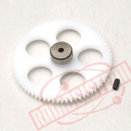 Hirobo Mini Lama R/C ingranaggio rotore secondario (0301-045)