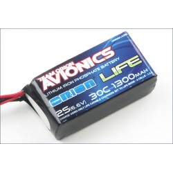 Orion Batteria Avionics LiFe RX Pack 1300 30C 6,6V (art. ORI60503)