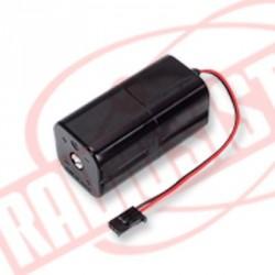 Futaba Contenitore chiuso per 4 batterie a stilo Ni-Mh formato AA (art. FU327)