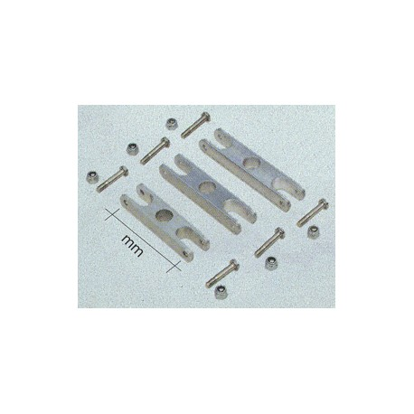 Aero-naut Mozzo porta elica richiudibile L47mm foro 8mm (art. 724223)
