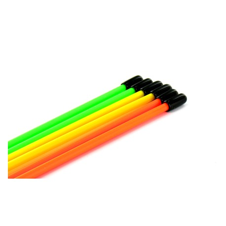 Jet's Tubi antenna Arancione Fluorescente 10 pezzi (art. TA)