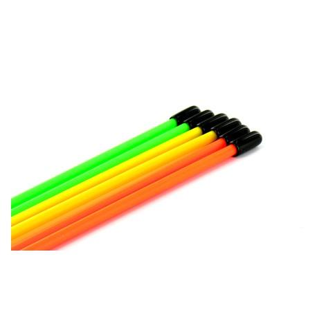 Jet's Tubi antenna Giallo Fluorescente 10 pezzi (art. TA)