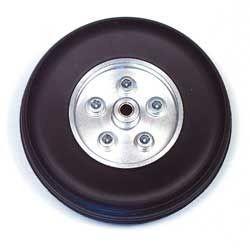 Coppia ruote in gomma cerchio Alluminio 90mm (art. RUO/34420/000)