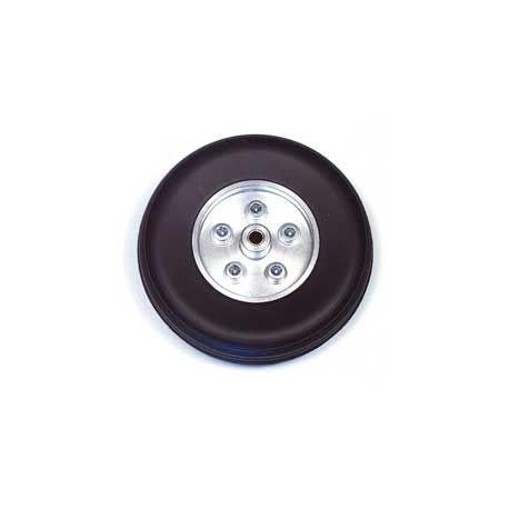 Euroretracts Coppia ruote in gomma cerchio Alluminio 90mm (art. RUO/34420/000)
