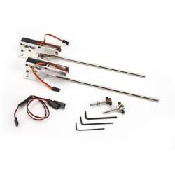 E-Flite Coppia carrelli retrattili elettrici 60-120 (art EFLG400