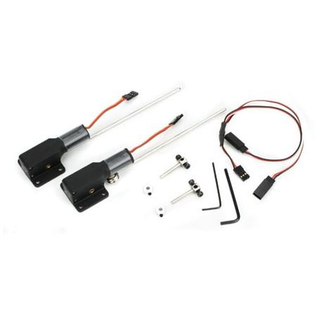 E-Flite Coppia carrelli retrattili elettrici 15-25 (art. EFLG210