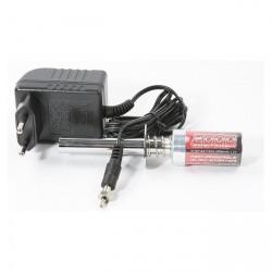 Robitronic Accendi candela con batteria 2000mAh e carica batteria (art. RB1018)