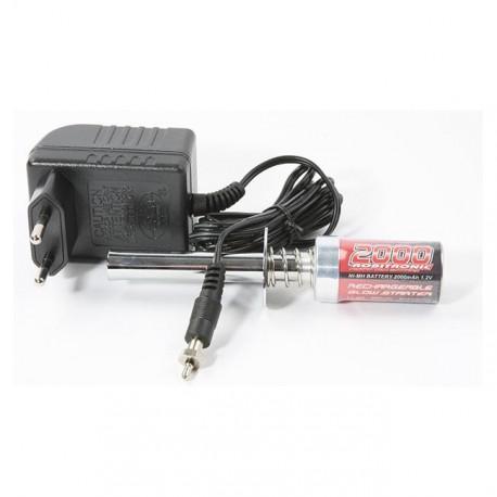 Robitronic Accendi candela con batt 2000mAh + carica (RB1018)