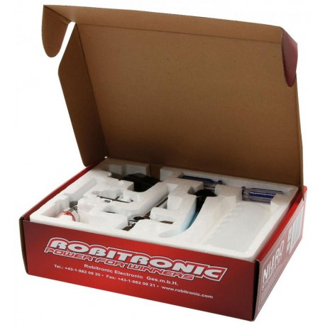 Robitronic Starter Kit per motori Glow a scoppio (art. RB1016)