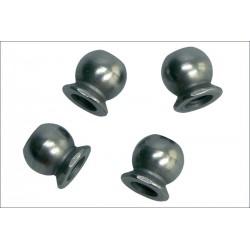 Kyosho Sfere uniball in acciao 5,8mm foro 3mm (art. FM-624)