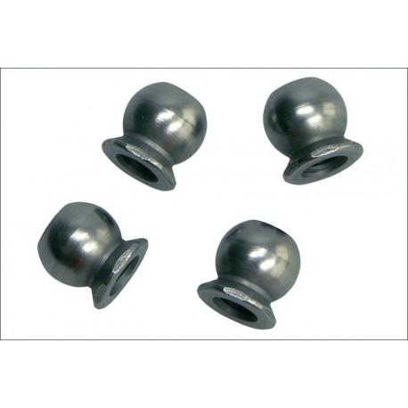 Kyosho Sfere uniball in acciao 5,8mm foro 3mm (art. FM624)