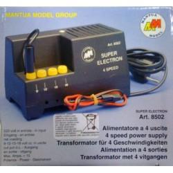 Mantua Model Alimentatore Superelectron 9-12-15-18V 6A (art. 8502)